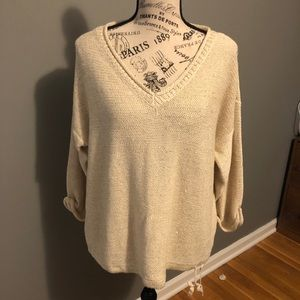 NWOT DKNY Sweater w/ sequins